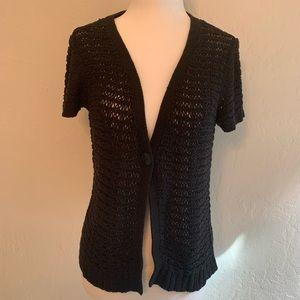 Ann Taylor LOFT Crocheted Cardigan